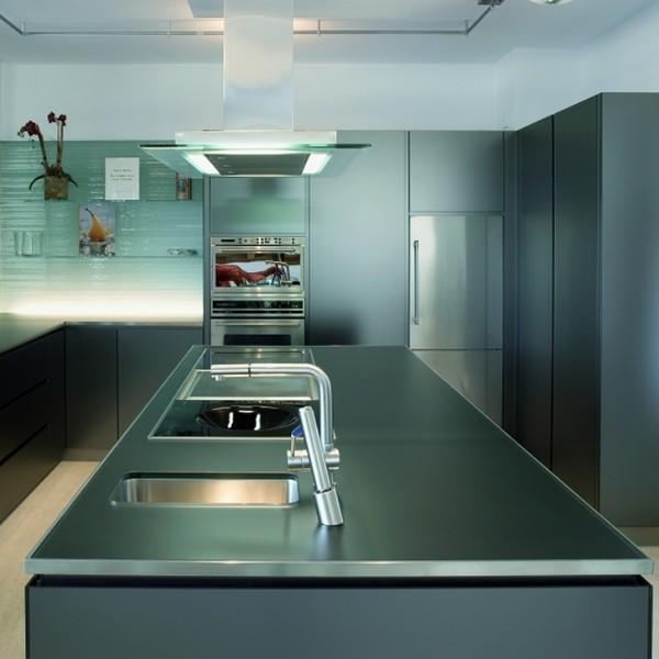 Glaslösungen für die Küche